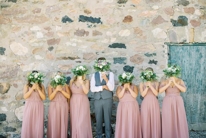A Farm Wedding in Gads Hill [Stratford Wedding Photographers]