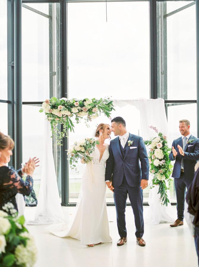 Spencer's at the Waterfront Wedding [Le Dome Wedding][Burlington Wedding Photographers]