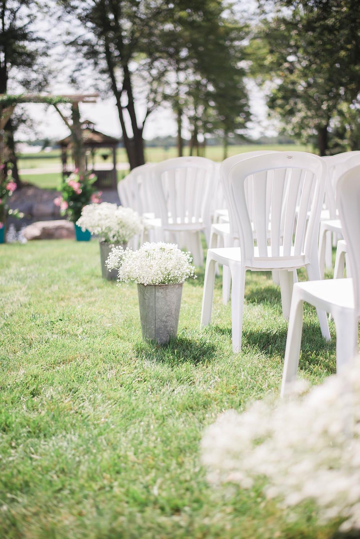 backyard wedding ceremony ontario