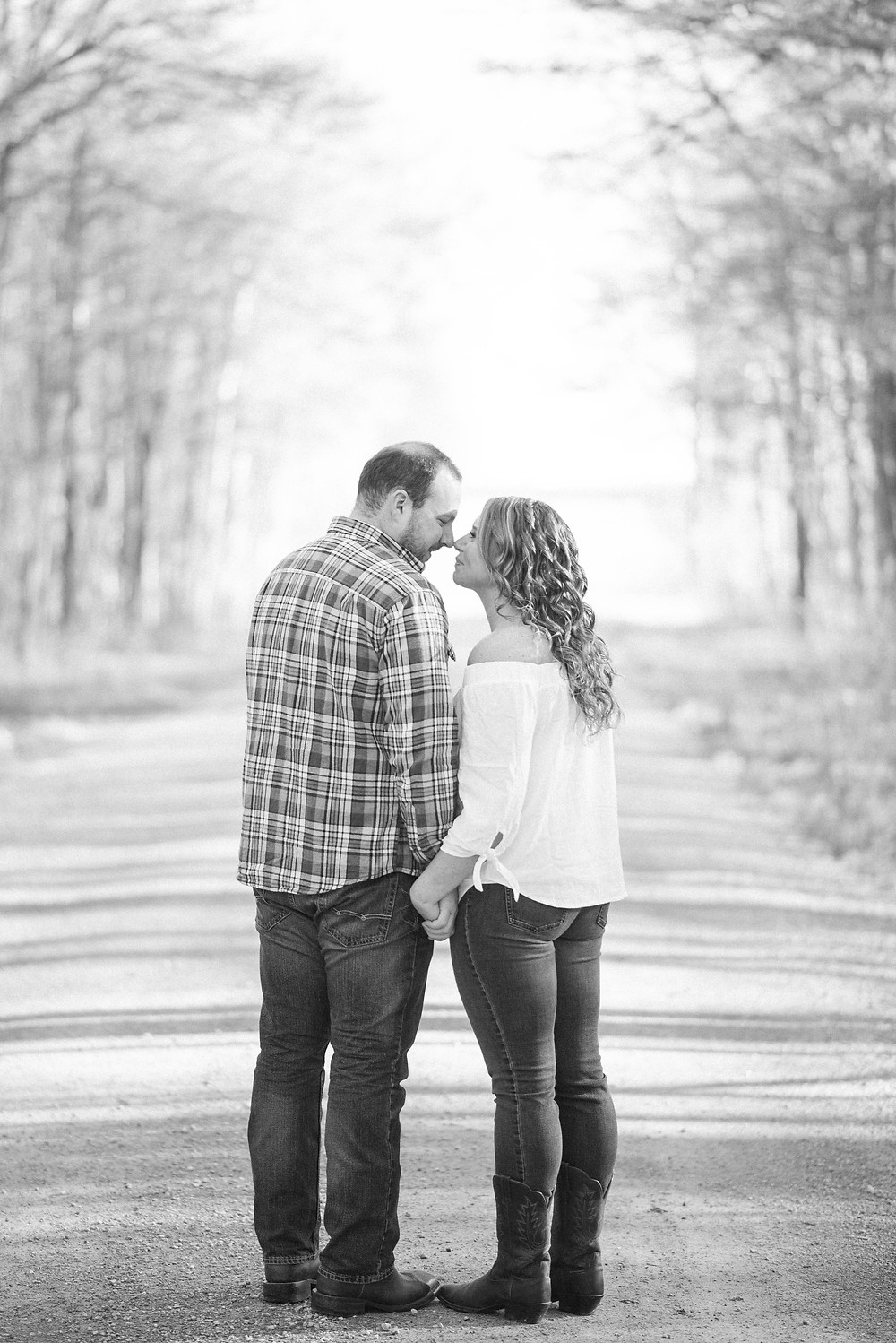 country road engagement