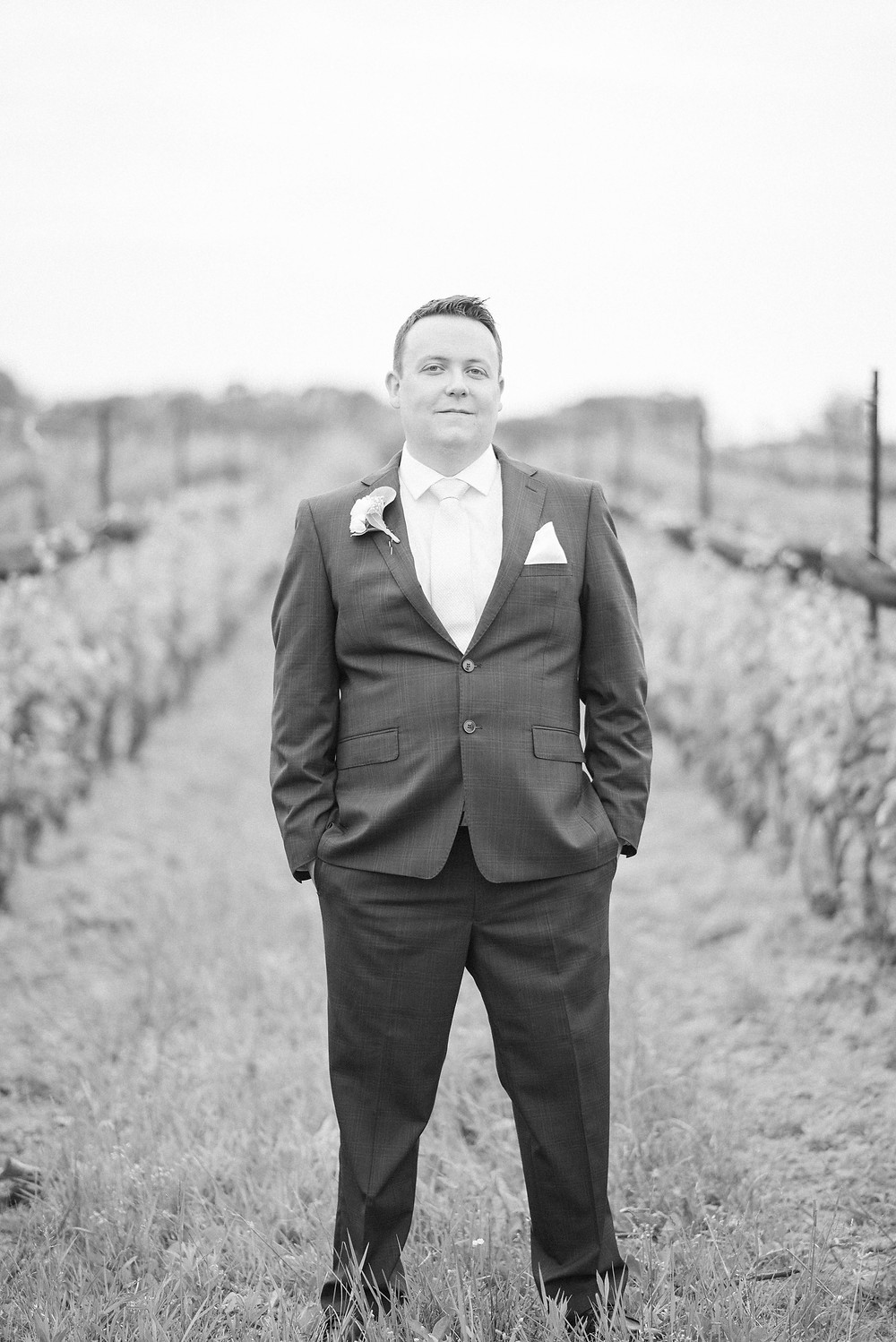 black and white groom pictures