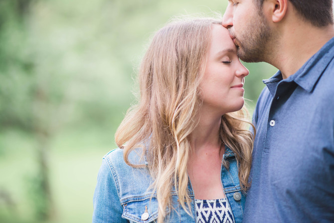 Park Engagement in Kettleby [Newmarket Engagement][Barrie Engagement]