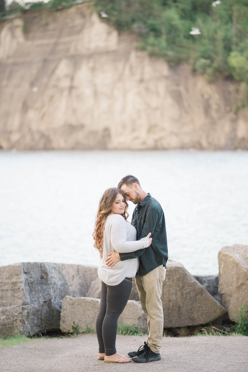 Scarborough Bluffs Engagement Pictures
