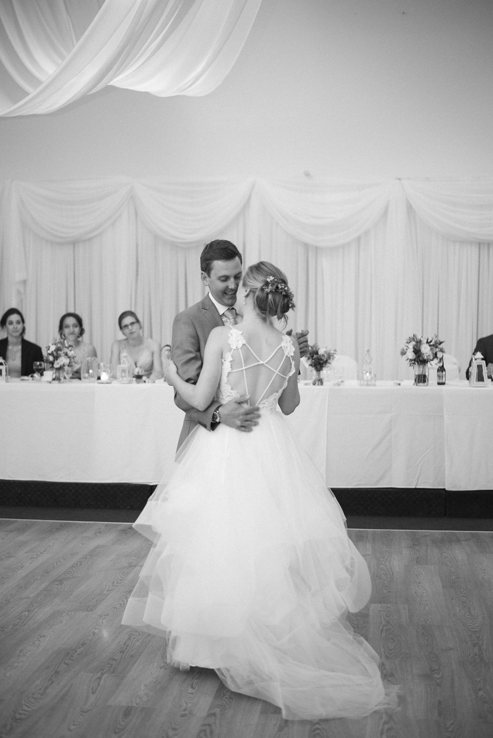 ariss valley golf and country club wedding reception