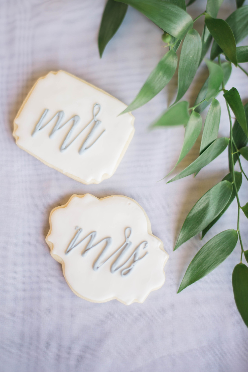 wedding cookies Beanie's Bakeshop