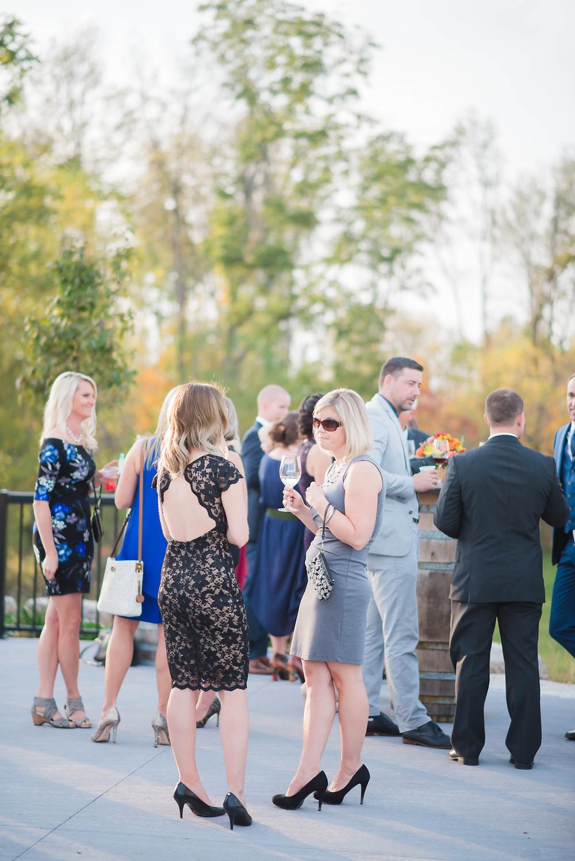wedding reception burning kiln