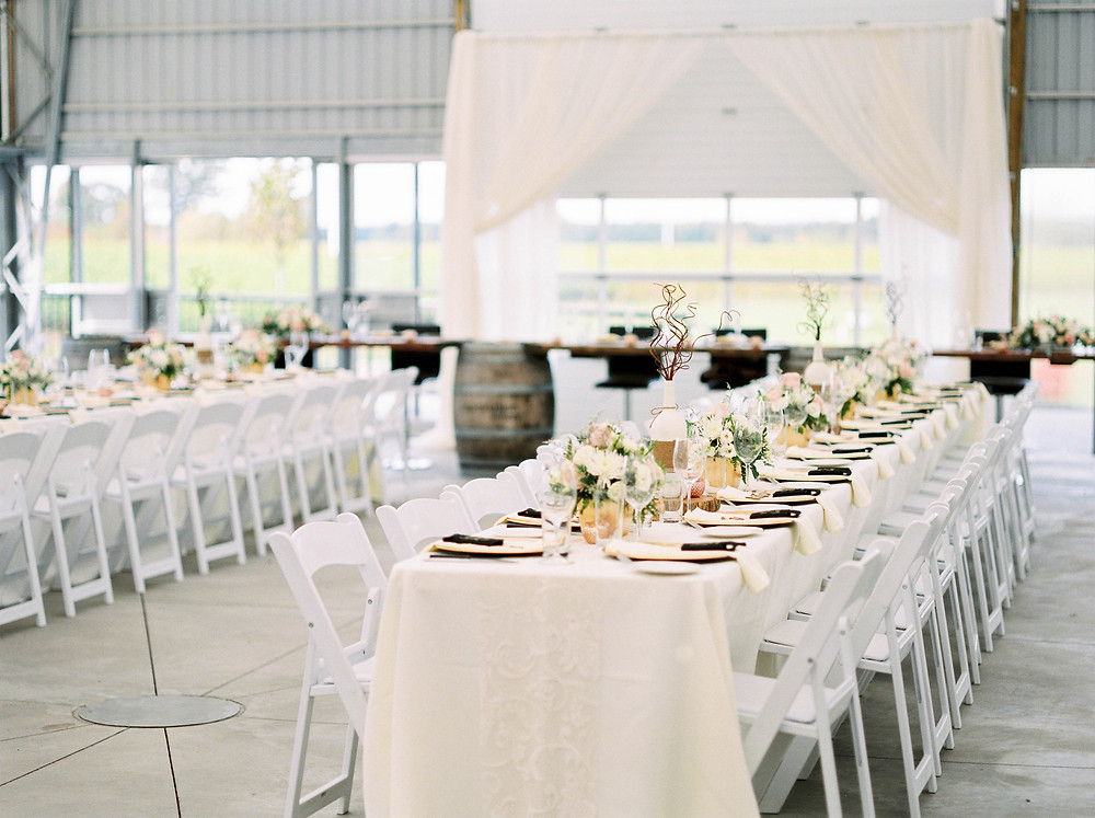 burning kiln wedding reception