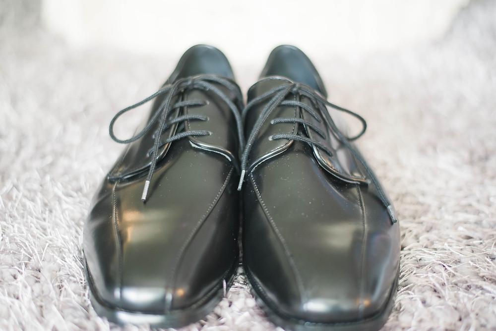 groom dress shoes