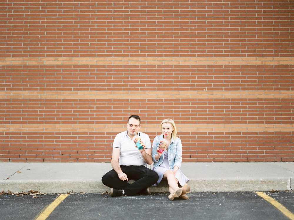 7 eleven engagement pictures