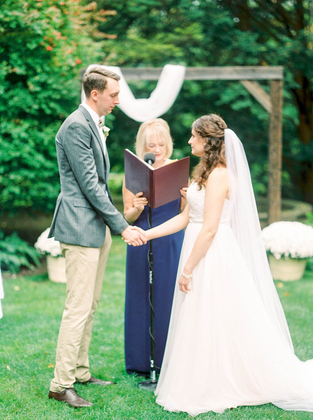 estates of sunnybrook wedding ceremony
