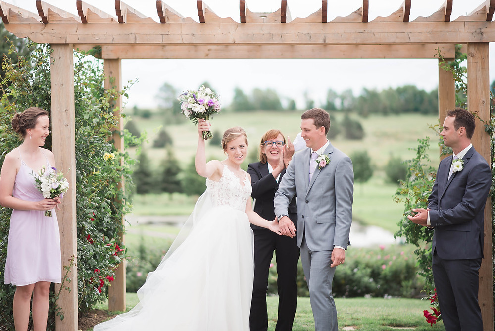 outdoor wedding ceremony guelph