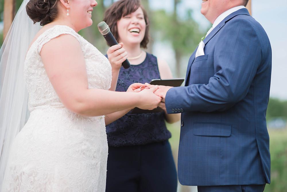 joy johnson wedding officiant