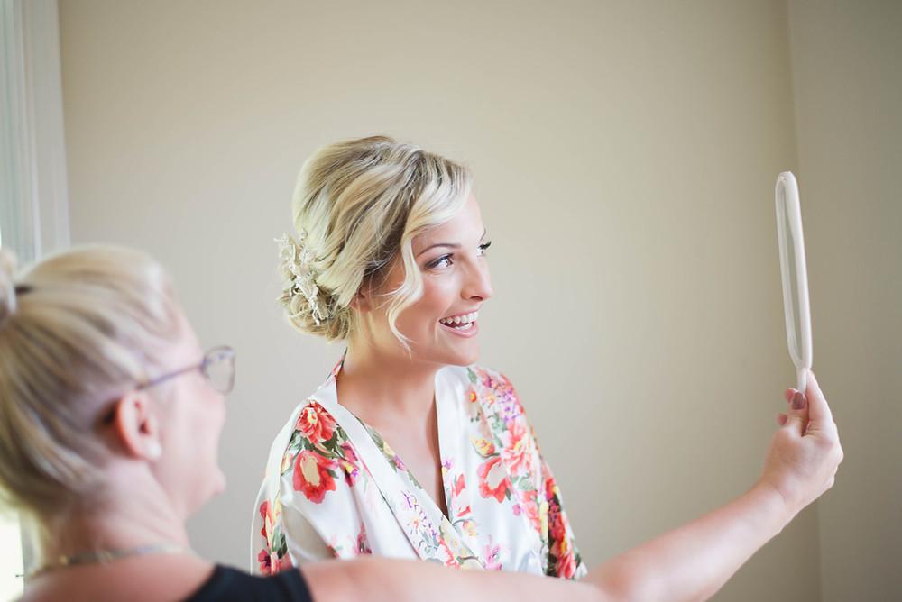 wedding makeup reveal pictures