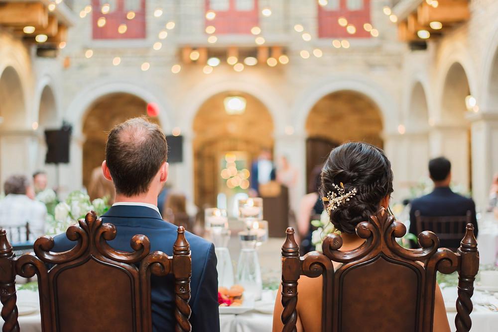 wedding reception at hacienda sarria