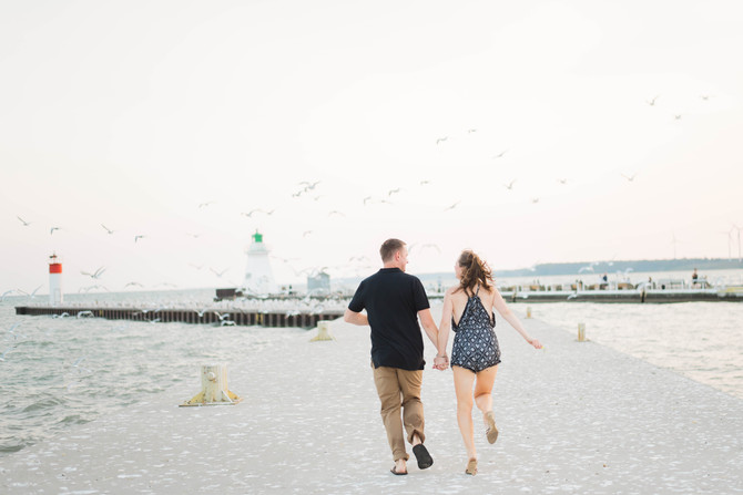 Port Dover Engagement [Engagement Pictures Port Dover][Norfolk County Wedding Photographers]