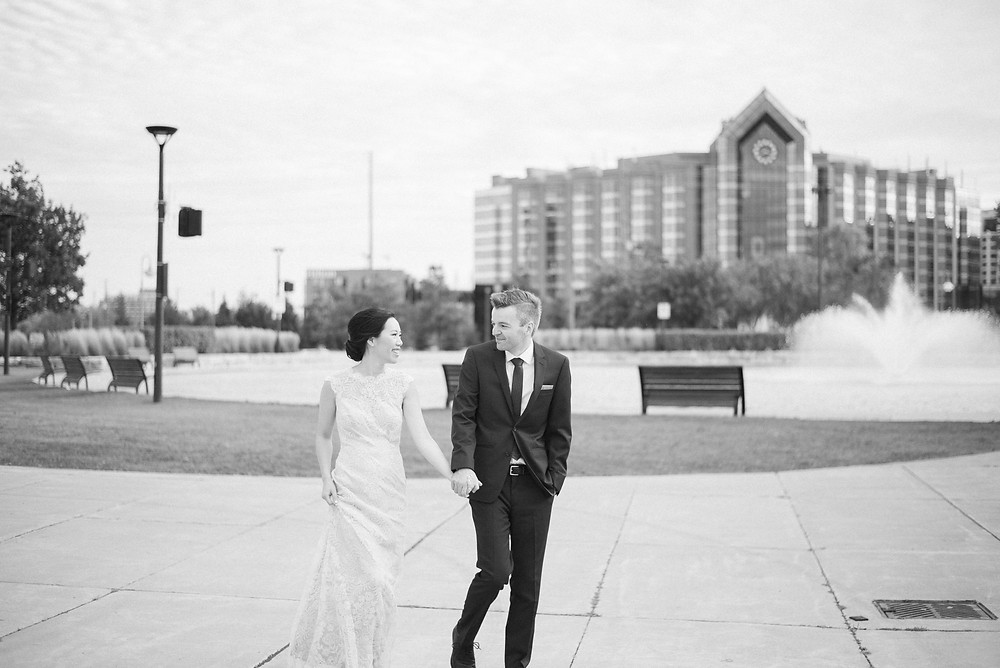 Markham downtown wedding pictures