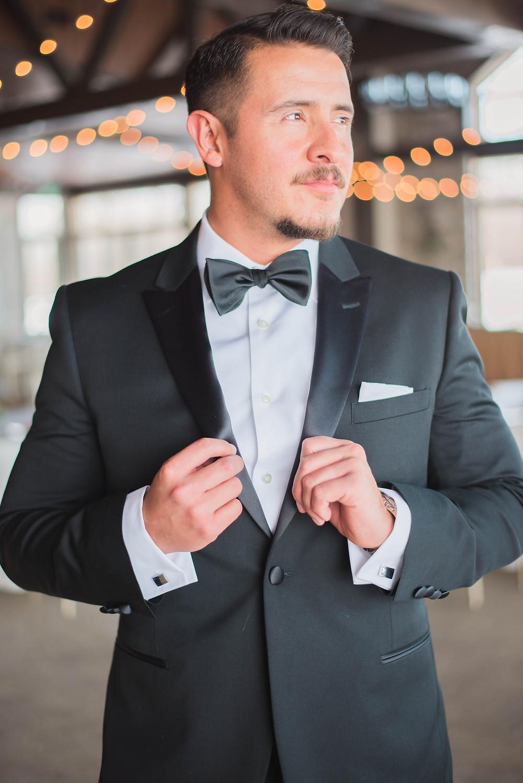classic groom tuxedo