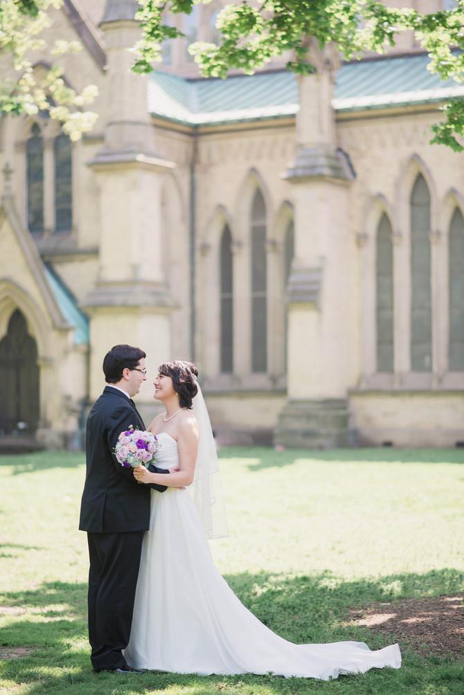 Rosewater Room Wedding[St. James Park Wedding][Toronto Wedding Photographer]