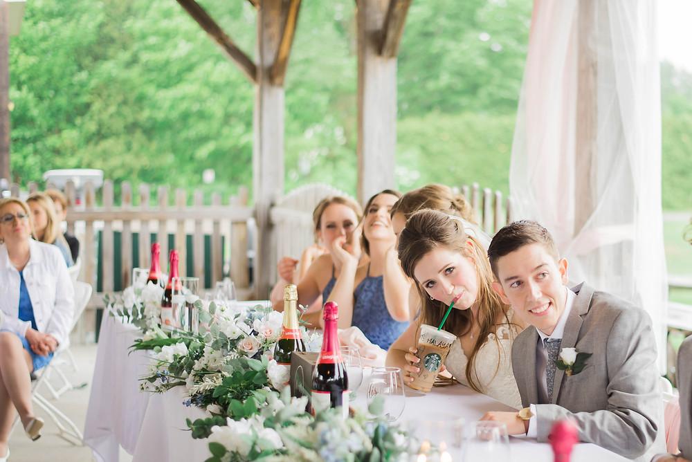 starbucks wedding