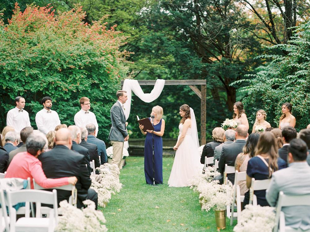 mclean house wedding ceremony