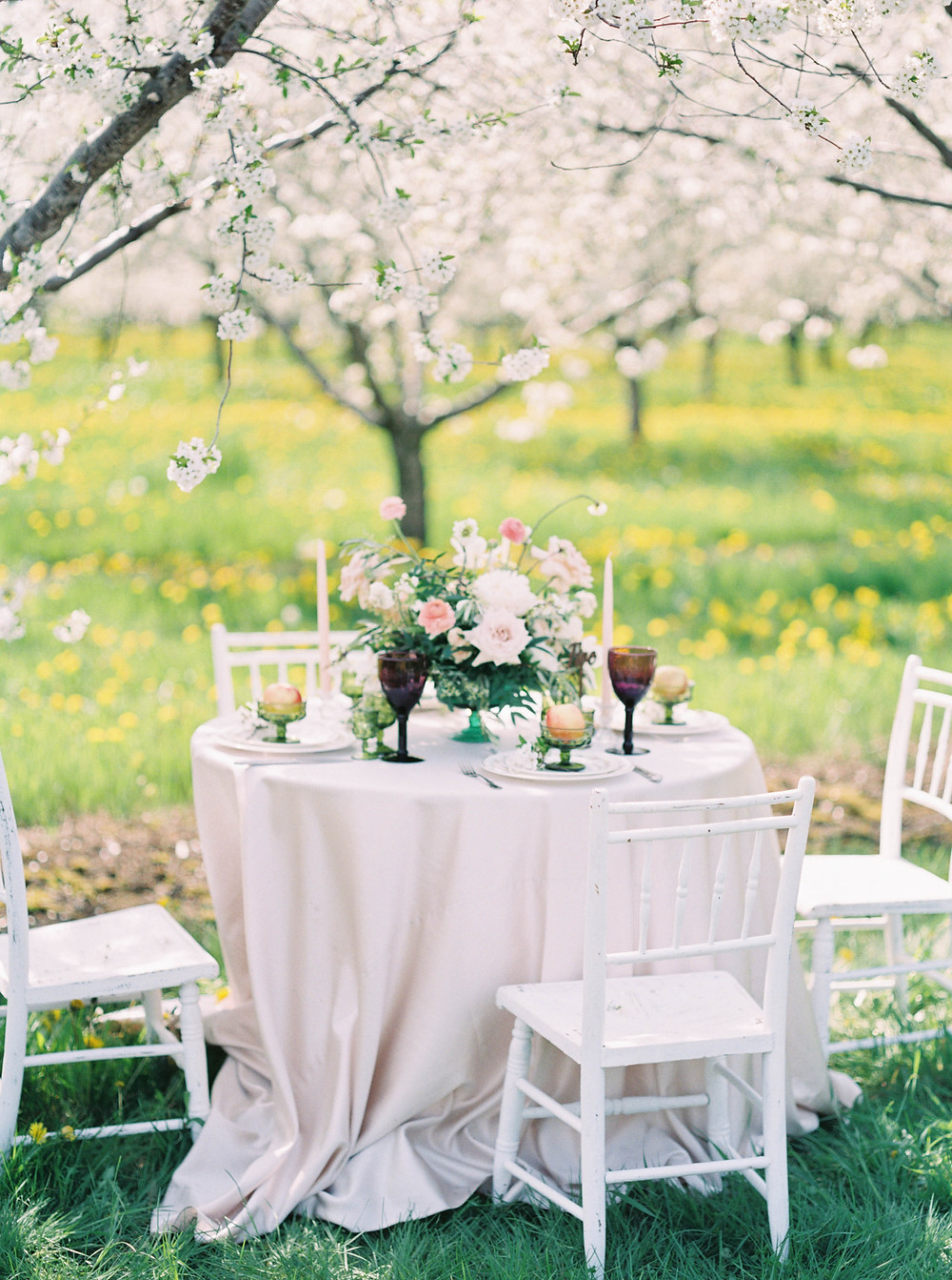 cherry blossom wedding decor