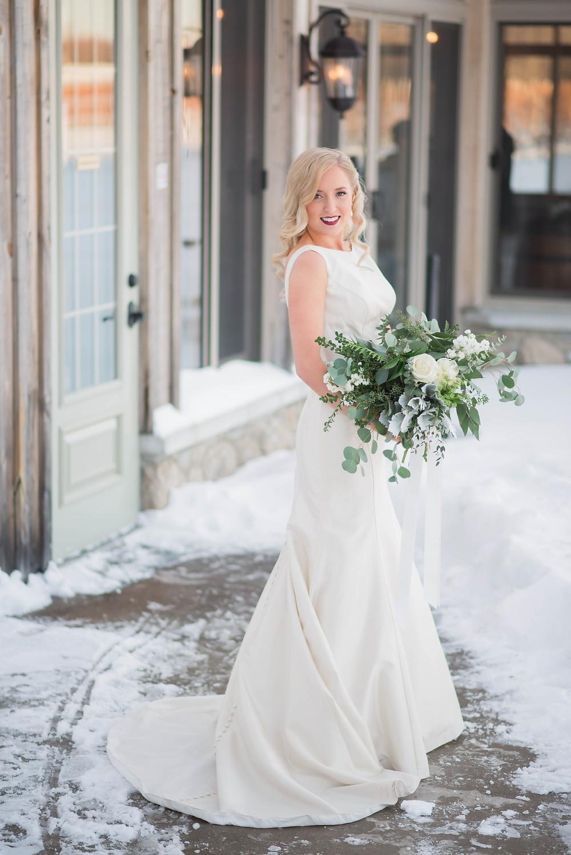 winter wedding pictures