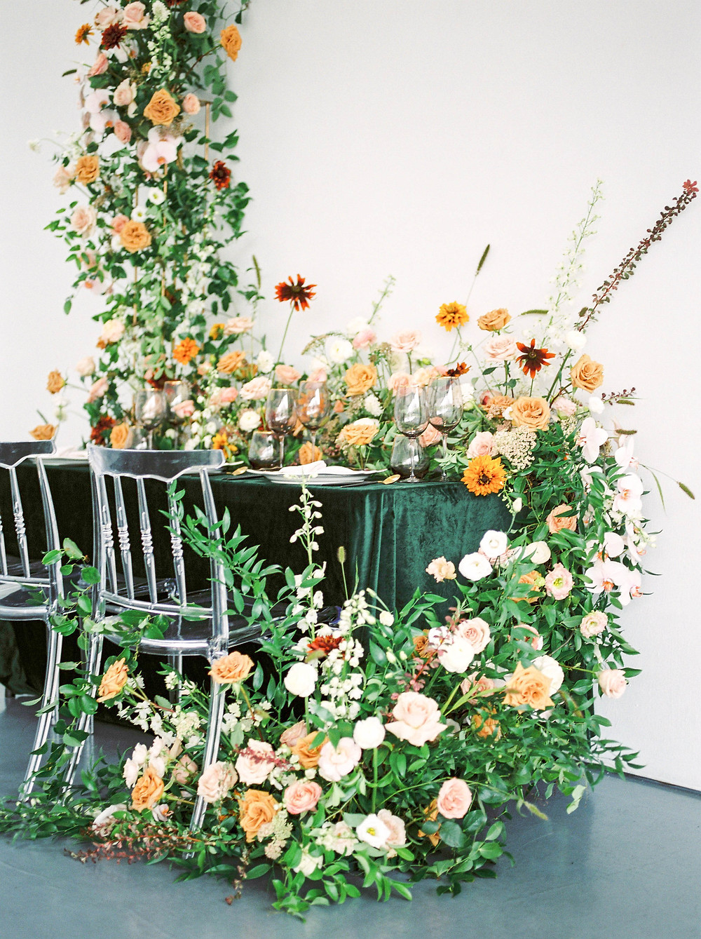 luxury wedding florals toronto