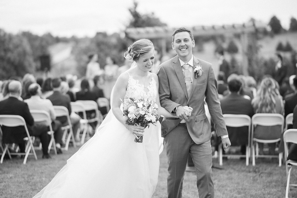 guelph outdoor wedding ceremony