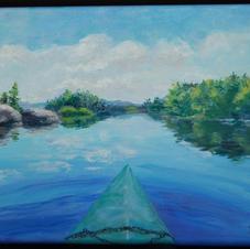 Attean Lake by Sharon Bond