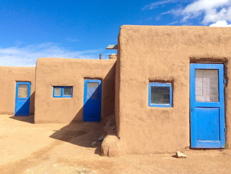 Taos Trio by Molly Haley