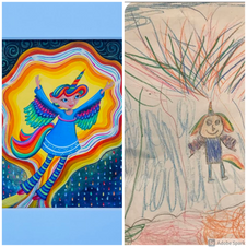 Response to Child's Imagination by Dawn Prindall