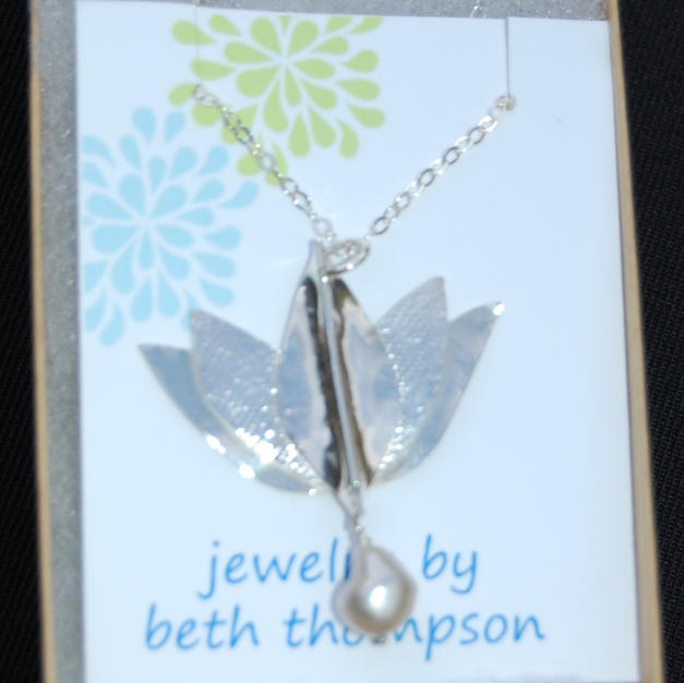Sterling Silver Pendant by Beth Thompson