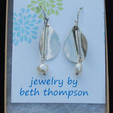 Sterling Silver Earrings by Beth Thompson