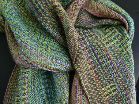 Mere Point Scarf by Amy Smith