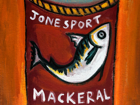 Jonesport Mackeral by Matt Barter
