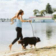 Sunday morning jogs 🐾. #lifeofasitter_.