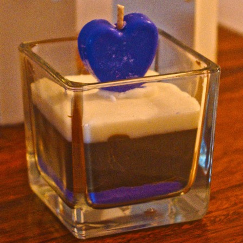 Love In a Candle Blue