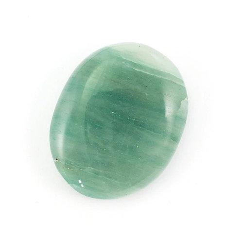 Gree Aventurine Crystal Palm Stone
