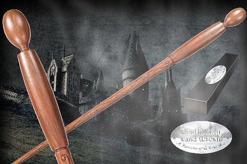 Death Eater Character Wand – Brown