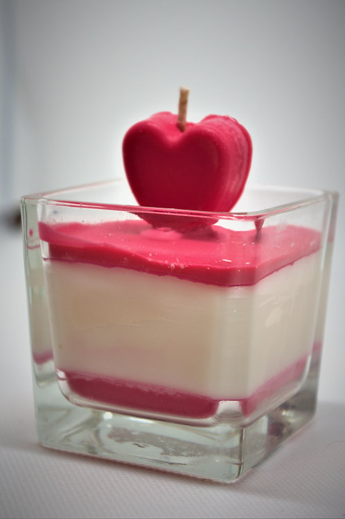 Love In a Candle Red