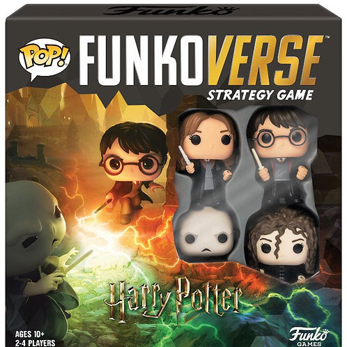 Harry Potter Funkoverse Board Game 4 Character Base Set *English Version* Board