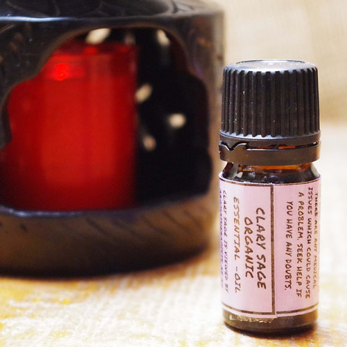 Clary sage Organic Essential oil 5 ml