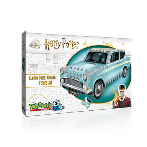 Weasley car - Wrebbit 3D puzzle - Harry Potter
