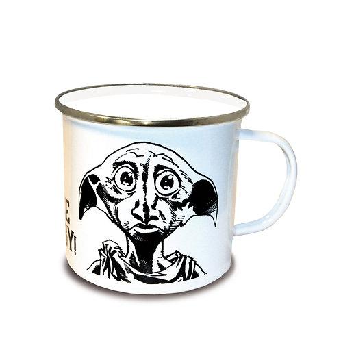 Harry Potter Enamel Mug Free Dobby Cups & Mugs Harry Potter - Officially license