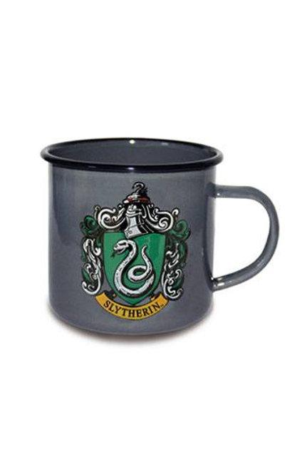 Harry Potter Enamel Mug Slytherin Logo