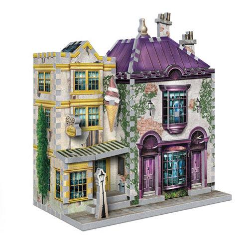 Madam Malkin's and Florean Fortescue - Slug and Jiggers - Wrebbit 3D puzzle - Ha