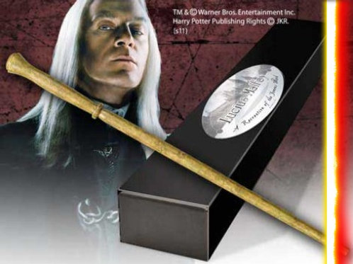 Replica in polyresin of Lucius Malfoy's Wand