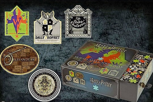 5 x Diagon Alley 200pc Jigsaw Puzzles