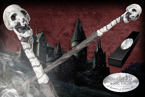 Death Eater Character Wand – Skull