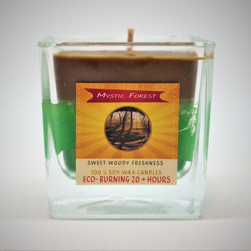 Mystic Forest 20+Hr Soy wax Candle-Unique design -Original Scent